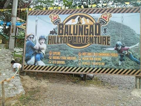 Balungao Hilltop Adventure Entrance